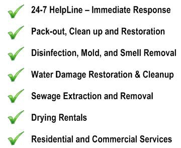 Flood Cleanup Long Branch NJ cleaning Water Damage Restoration