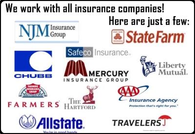 Direct Insurance Billing - Water Damage Insurance Company NJ