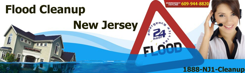 Flood Cleanup North Jersey - Frozen Pipe Water Damage & Basement Repair Services